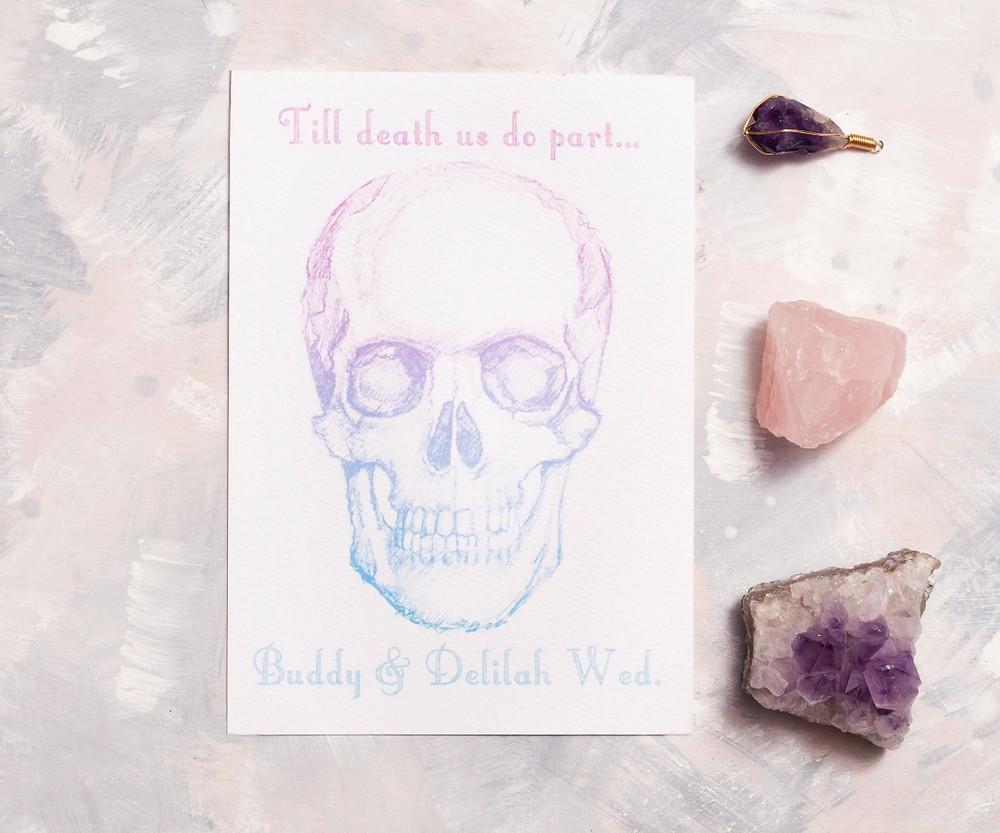 Wedding themes - wedding theme guide - wedding invitations - wedding stationery - pastel wedding invitations