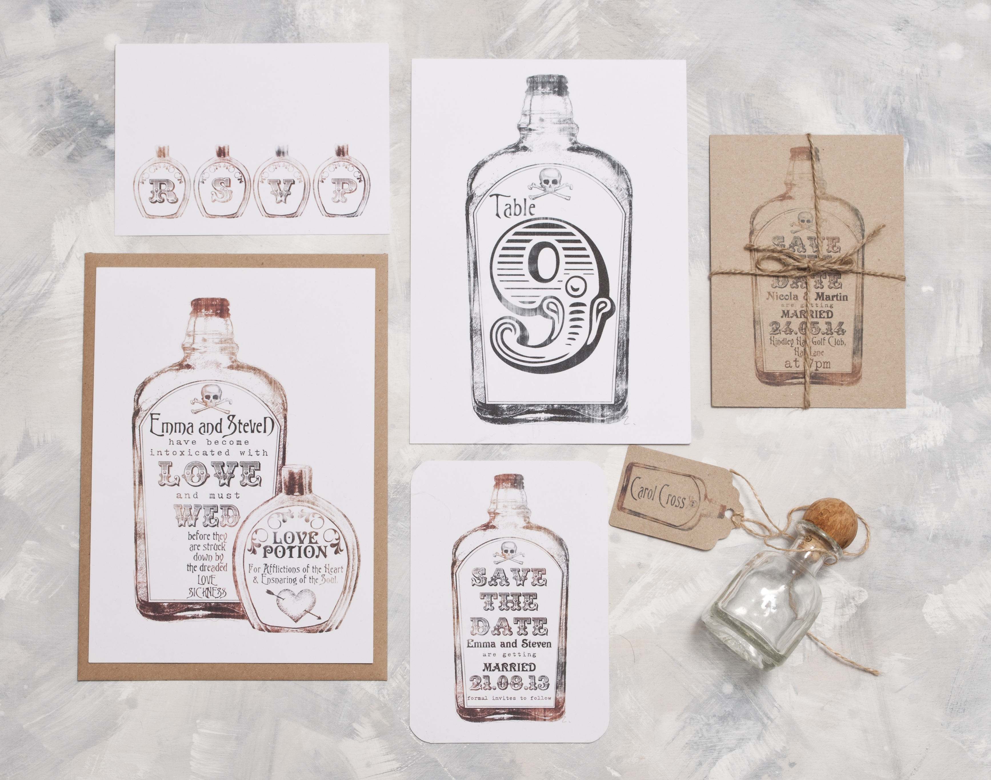 Vintage Apothecary Stationery