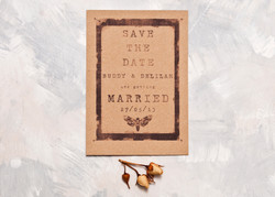 Pinned Moth Save The Date