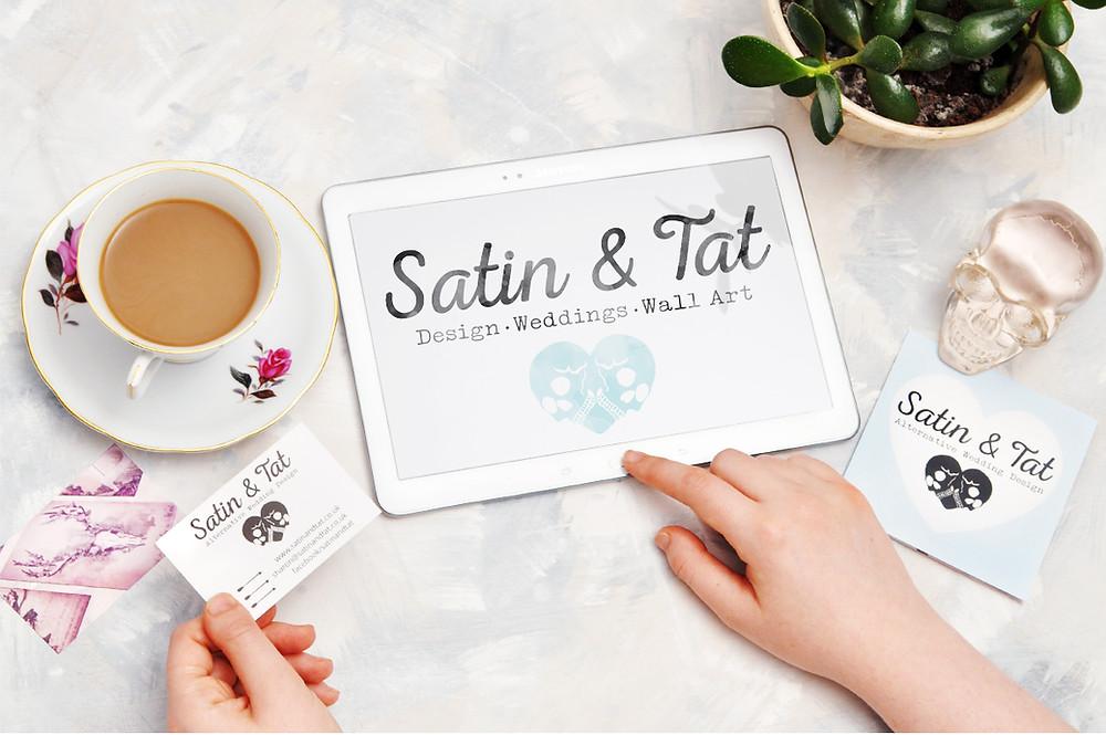 Satin and Tat - wedding invites - wedding blog