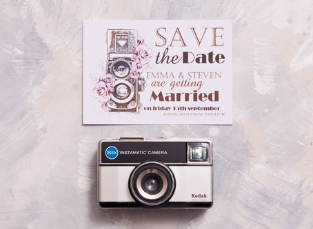 Don't Panic! Save the Dates to Suit Your Perfect Wedding