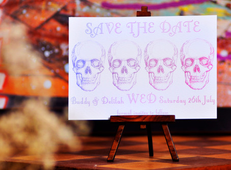 2 Drastically Different Directions to take your Day of the Dead Wedding