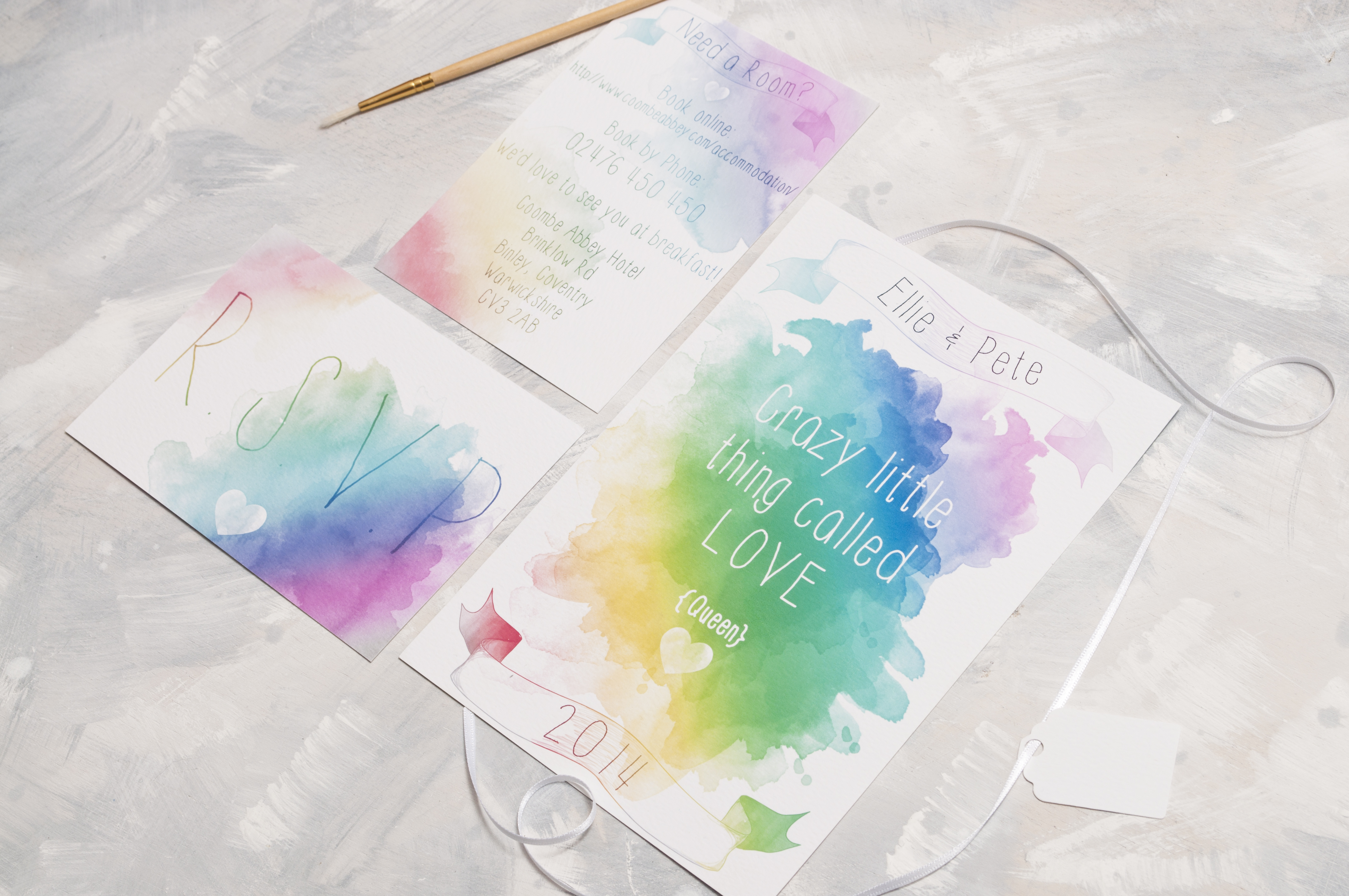 The Watercolour Lyric Range