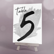 Concrete Table Number