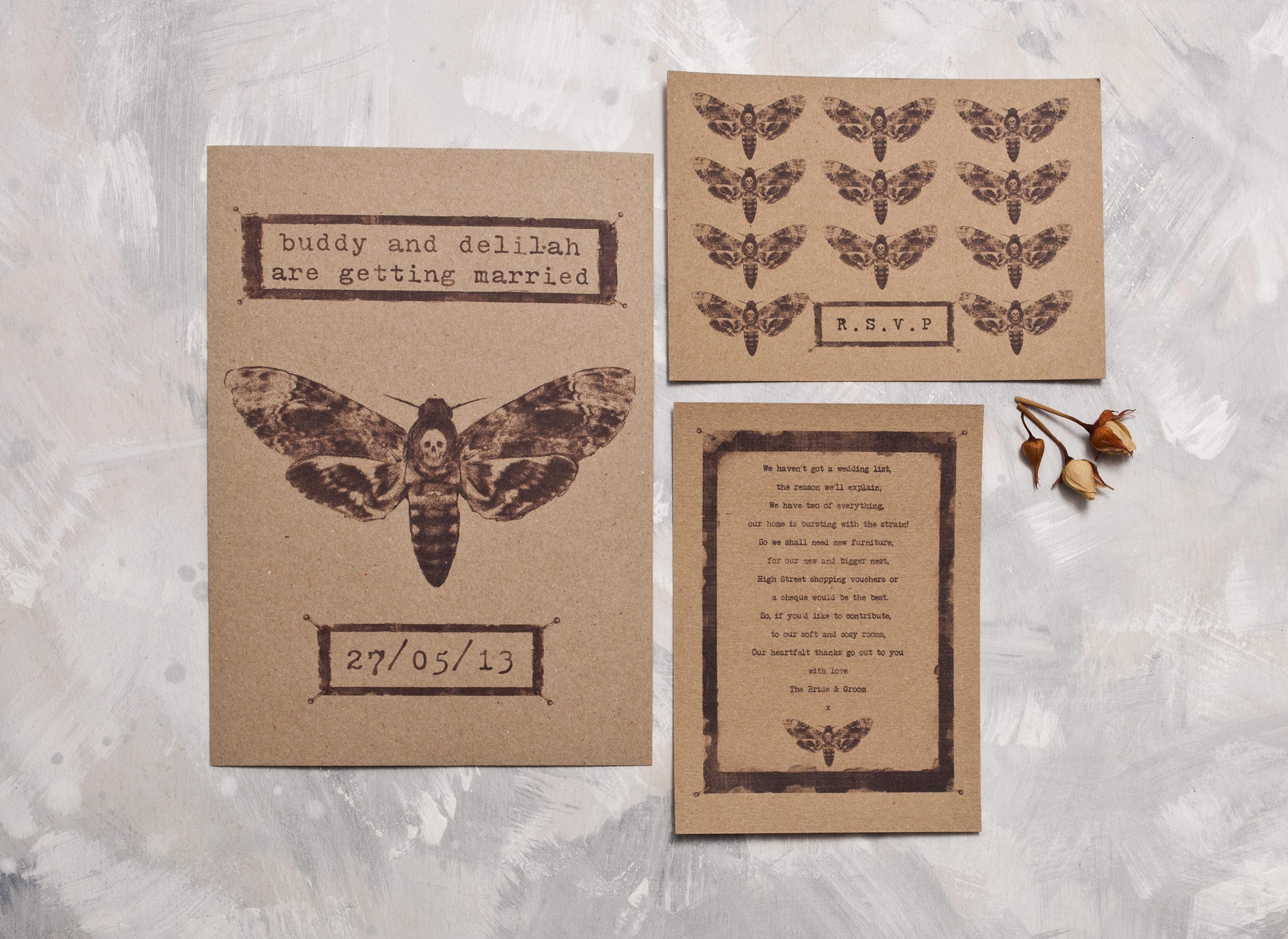 Pinned Moth Full Invite Suite