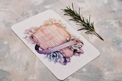 Shield & Succulent Wedding Invite