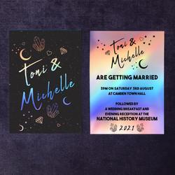 Holographic Wedding Invitations