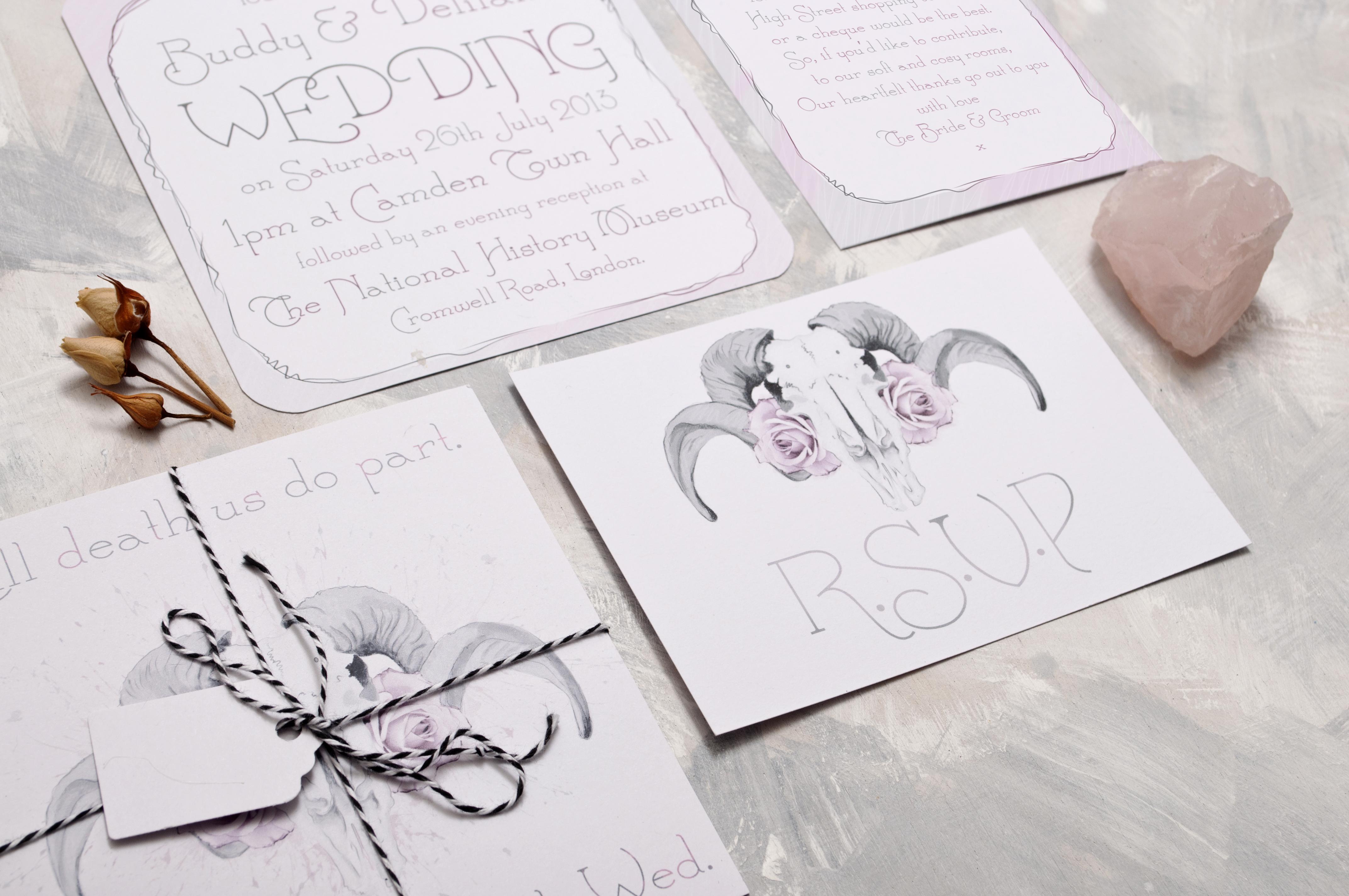 Ram & Rose Wedding Stationery
