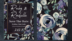 Top 5 Gothic Wedding Invitations