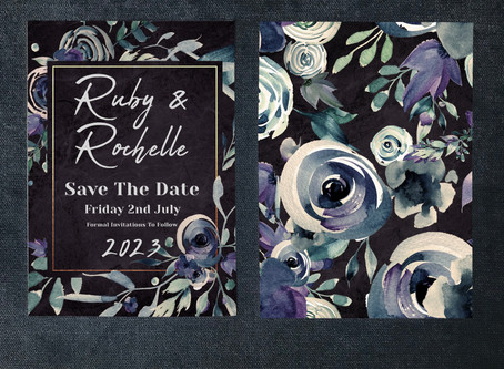 Top 5 Gothic Wedding Invitations
