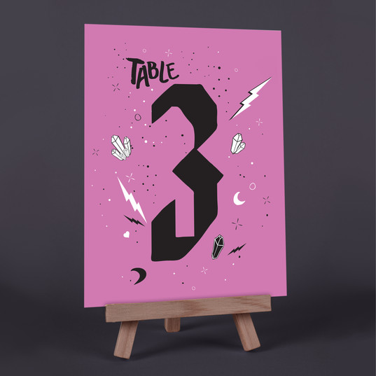 Love Spell Table Number