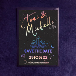Holographic Save The Date
