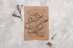 Vintage Lyric Wedding Invitations