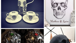 13 Gorgeous Gifts for Macabre Loving Newly-Weds!