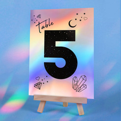 Holo Table Number