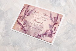 Woodland Stag - Save The Date