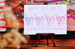 Skull Save The Date