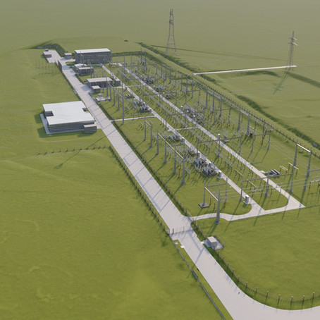 Modelado de estaciones transformadoras de electricidad. Cómputo métrico de torres metálicas.