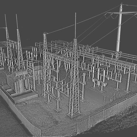 Estaciones transformadoras 2, relevamiento dinámico con escáner móvil TIMMS.