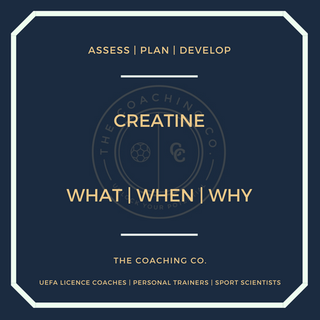 Creatine: What | When | Why