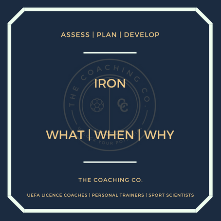 Iron: What | When | Why