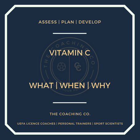Vitamin C: What | When | Why