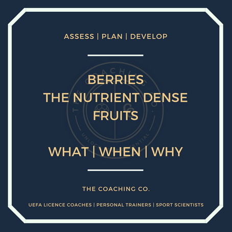 Berries: What | When | Why