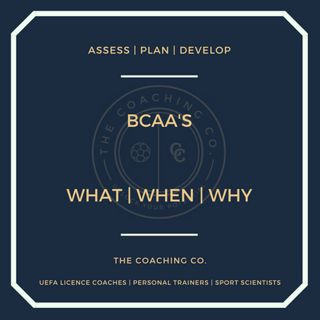BCAA's: What | When | Why