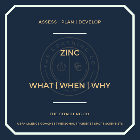 Zinc: What | When | Why