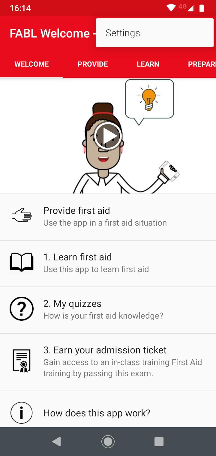 Step 2: Click the three dots