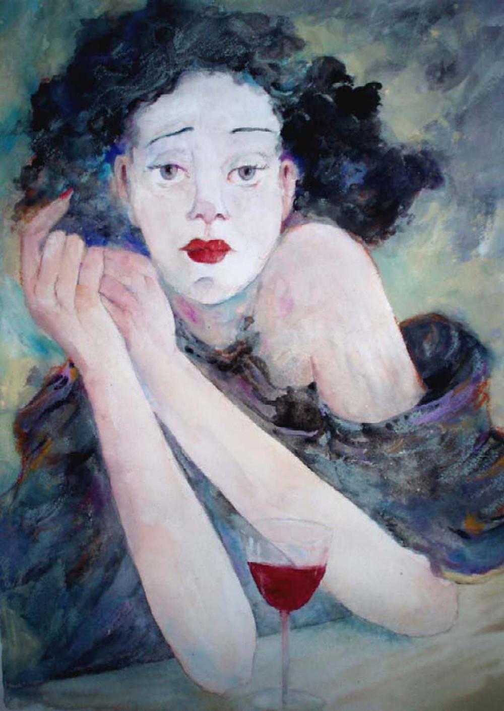 La Vie en Rose - Edith Piaf Portrait