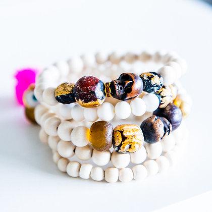 5 Stack Mixed Bracelets