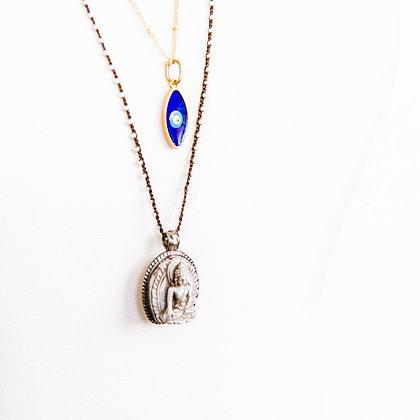Meditation Necklace with Buddha