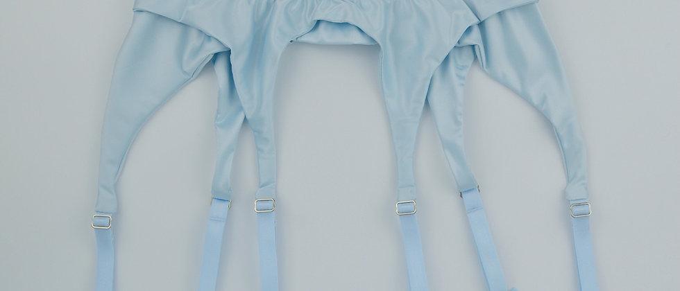 Marie Antoinette Baby Blue Suspender