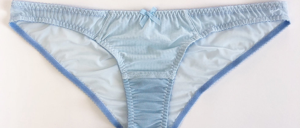 Basic baby blue brief