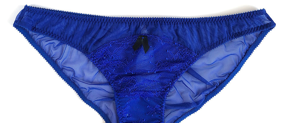 Sapphire ouvert knickers