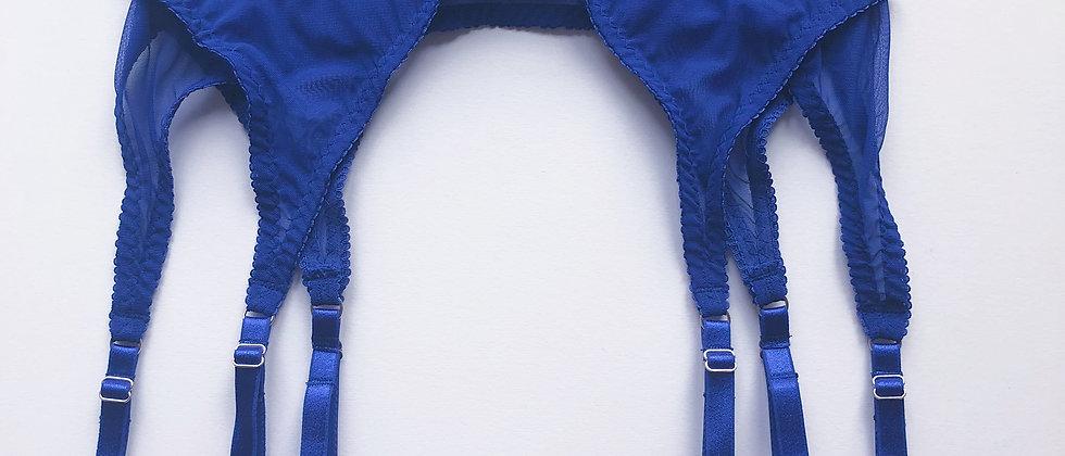 Basic electric blue suspender
