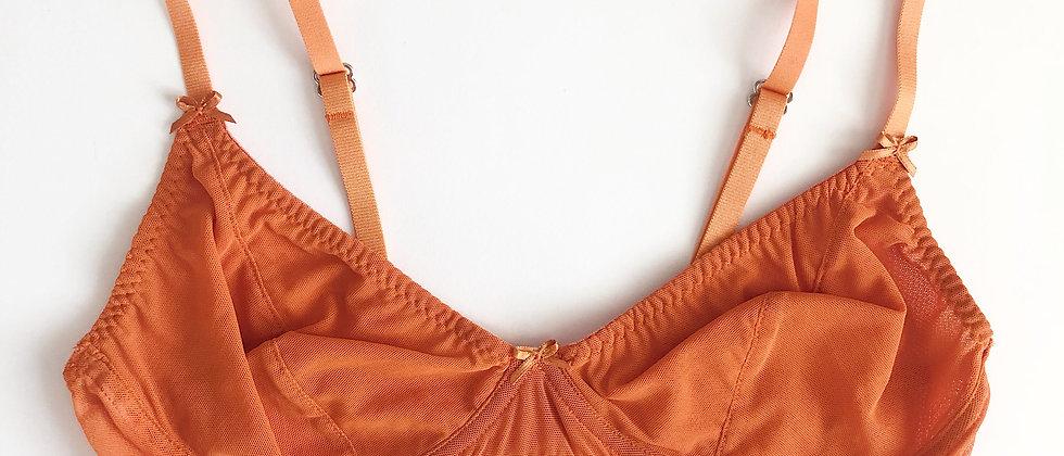 Basic orange bra