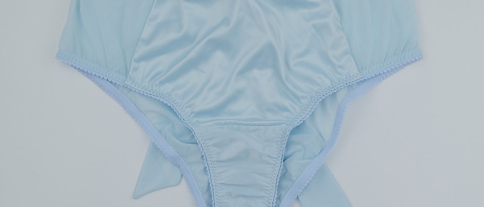 Marie Antoinette Baby Blue high waisted knickers
