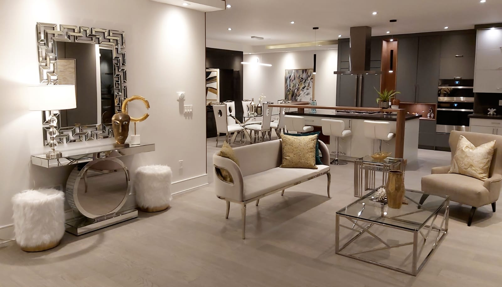 staged luxury condo gta
