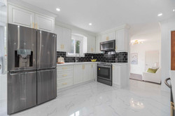 open kitchen home staging gta