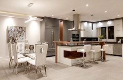 staged dining room and kitchen toronto
