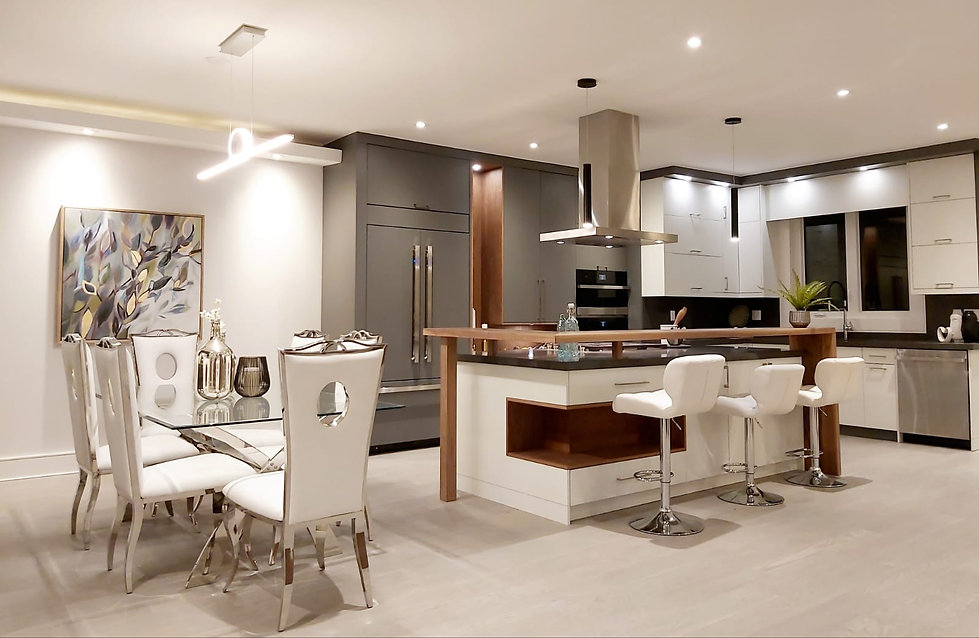 staged dining room and kitchen toronto.j