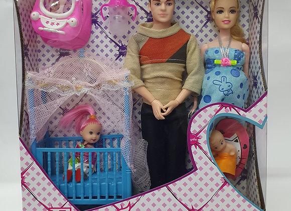 משפחת בובות אמא בהריון