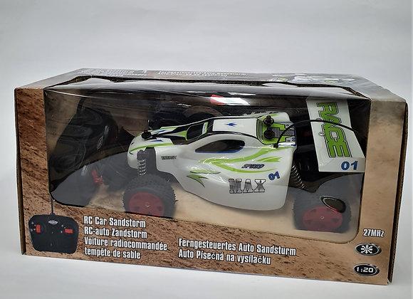 מכונית מרוץ על שלט