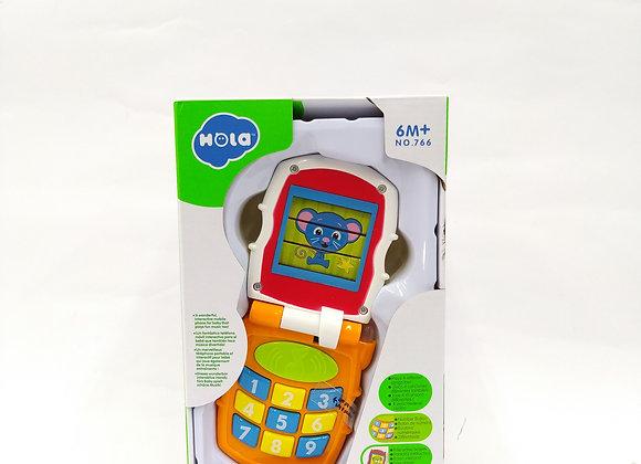 פלאפון לתינוקות מנגן ומחליף תמונות