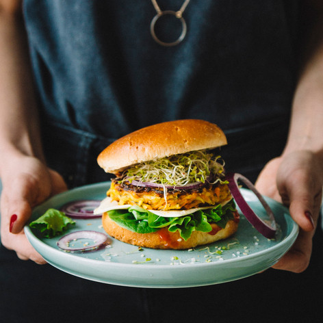 Burger végétal