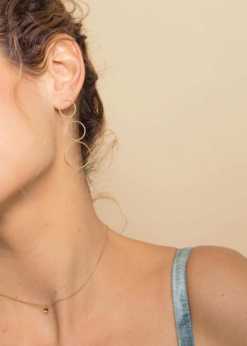 Boucles d'oreilles LITA