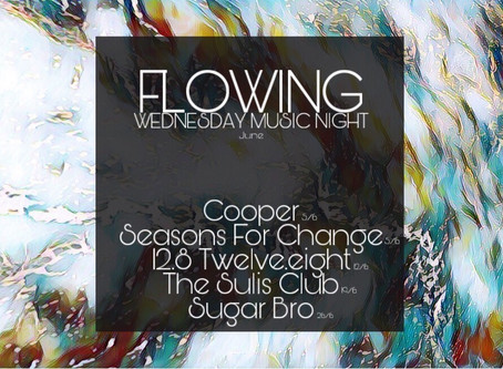 【TSC演出】FLOWING WEDNESDAY MUSIC NIGHT