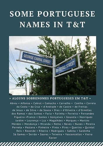 PORTUGUESE NAMES